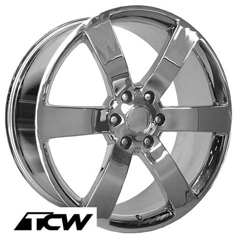 chevy trailblazer ss oe replica chrome wheels
