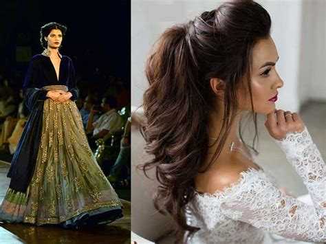 bridal hairstyles for every wedding event boldsky