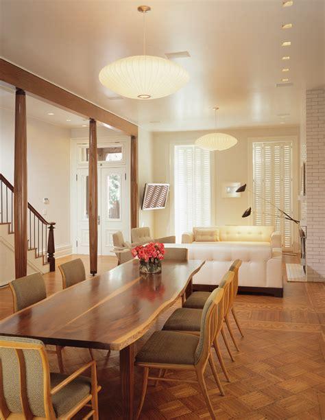 mid century modern lighting kitchen contemporary