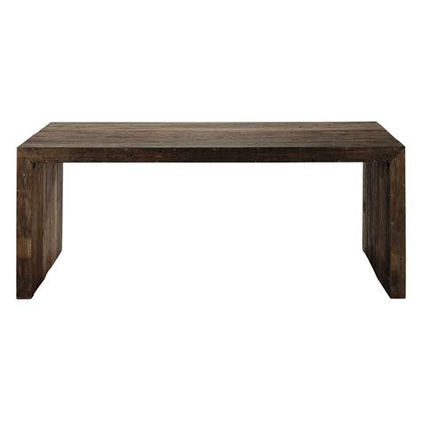 table de salle 224 manger en bois recycl 233 l 200 cm wooden maisons du monde