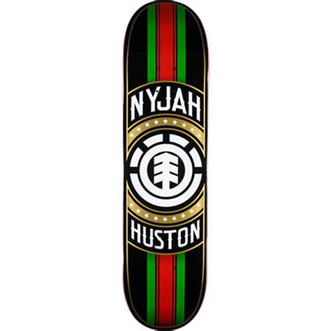 element nyjah huston deck element nyjah huston tastemaker 8 0 quot skateboard deck at