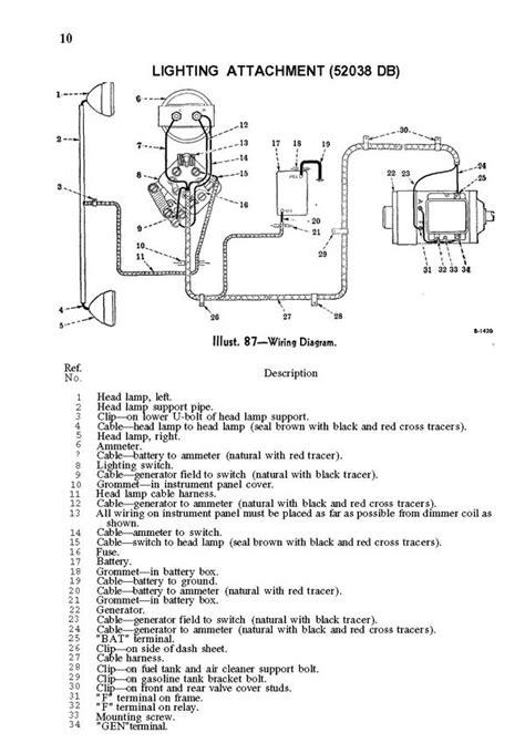 Wiring Diagram Farmall M Tractor by Farmall Electrical Wiring Diagrams