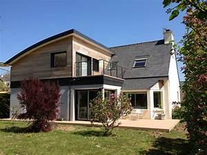 extension agrandissement maison brest et finistere 29 With le plan d une maison 16 agrandissement maison bois extension bois