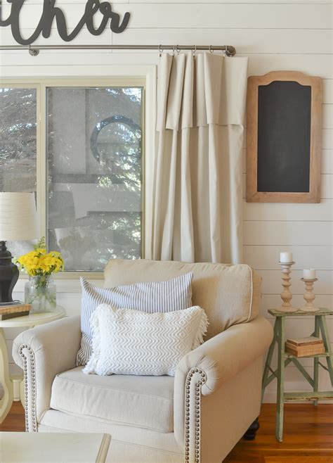 Farmhouse Made New by Farmhouse Style Front Room Makeover