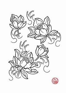 lotus flower drawings for tattoos | Lotus Flower by ...