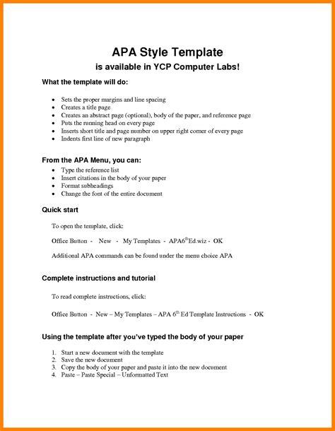 apa resume template free resume templates doc 8827 apa