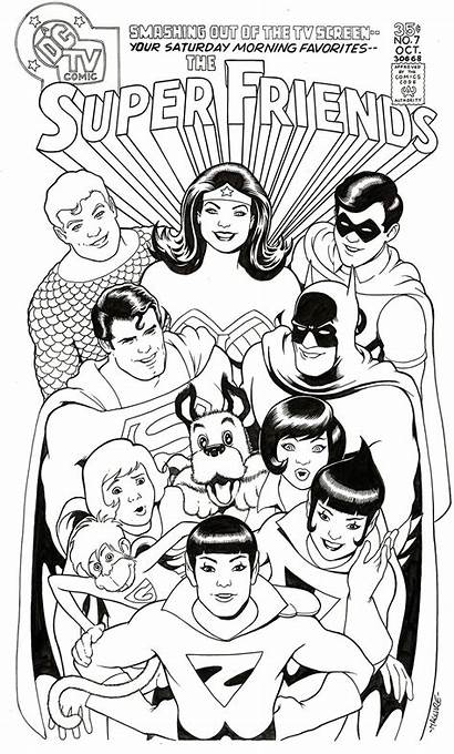 Friends Wonder Woman Comic Superman Twins Batman