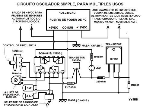 necesito el pdf o circuito de probador de inyectores yoreparo