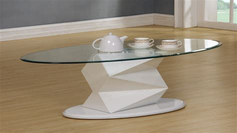 white glass coffee table white high gloss glass coffee side console table