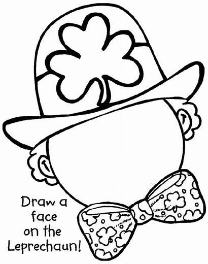 Coloring Leprechaun Pages Crayola Complete