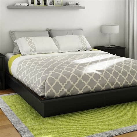 futon beds with mattress included platform bed frame king size sizes black color