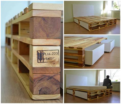 simple pallets bed  pallets