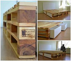 simple pallets bed o 1001 pallets With what kind of paint to use on kitchen cabinets for wooden candle holders unfinished