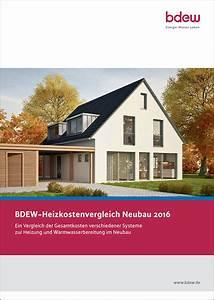 Enev 2016 Altbau : bdew heizkostenvergleich neubau 2016 ~ Lizthompson.info Haus und Dekorationen