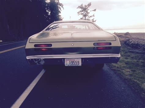 seller  classic cars  plymouth duster gf amber