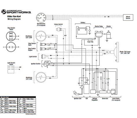 hammerhead 150 wiring diagram 37 wiring diagram