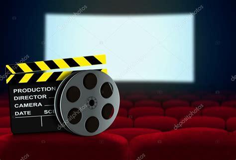 siege de cinema siège de cinéma avec bobine clap et à écran