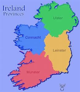 Mooseman.de - Gallery - Ireland - Provinces & Counties