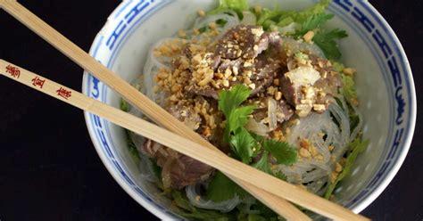 cuisine vietnamienne recettes bo bun recette de bo bun de la cuisine vietnamienne