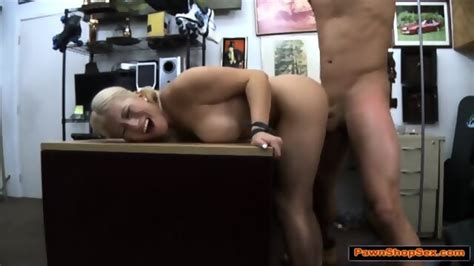 Busty Blonde Stripper Gives Lapdance And Is Fucked In