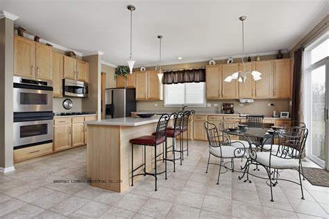 maple kitchen furniture solid wood shaker style maple kitchen cabinets lh sw076 in kitchen cabinets from home