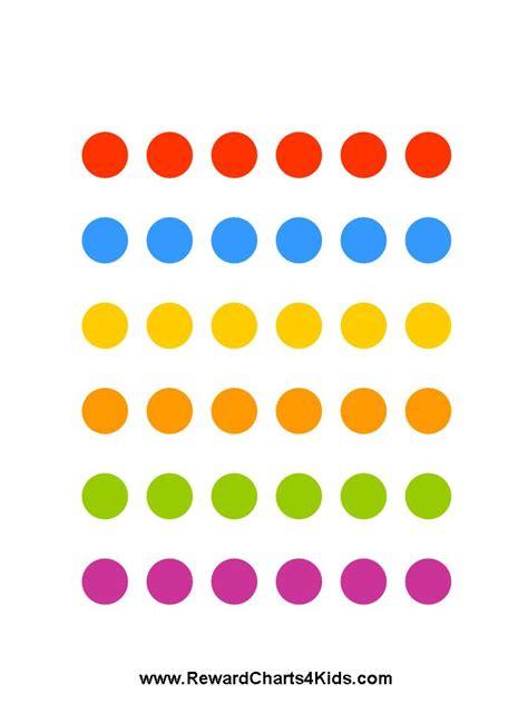 weekly reward chart printable sticker chart