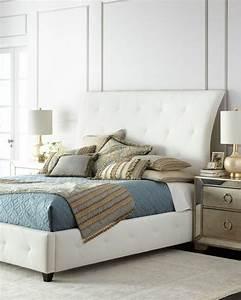 chambre parentale beige beige lit roche bobois cuir blanc With tapis shaggy avec canapé cuir roche bobois solde