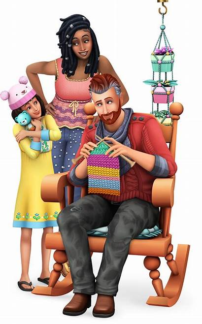 Sims Nifty Knitting Icon Official Render Stuff