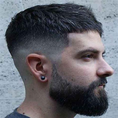 peinados de pelo corto  hombres tendencia