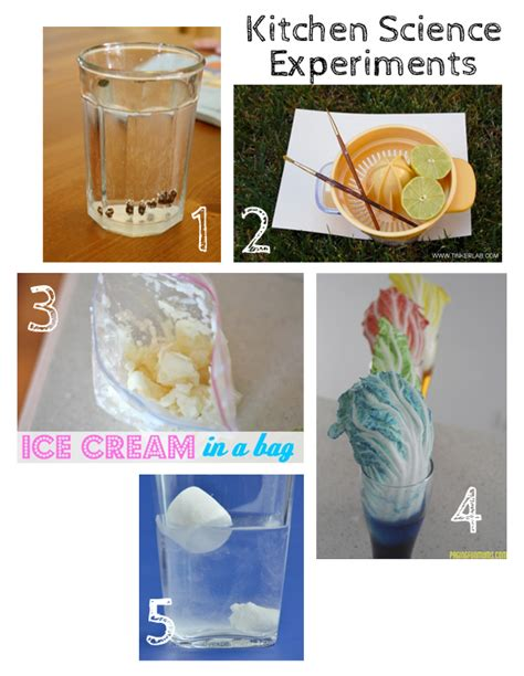 10 Kitchen Science Experiments For Kids  Make And Takes
