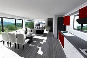 Interieur Maison Toit Plat. plan maison cubique toit plat evtod ...
