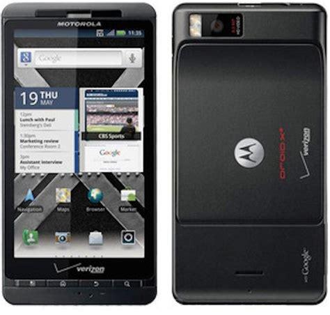 verizon droid phones motorola droid x bluetooth wifi gps pda phone verizon