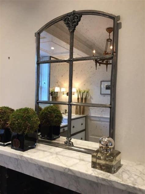 swedish antique small slow arch window mirror swedish