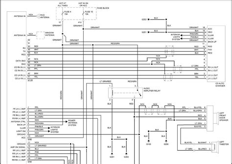 2001 Nissan Maxima Radio Wiring Diagram by I A 2001 Nissan Pathfinder With A Bose Clarion 6 Cd