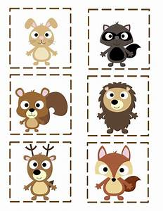 Preschool Printables: Free Forest Friends Printable ...