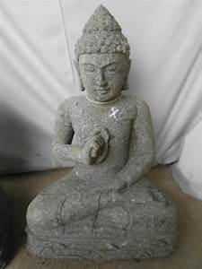 Statue Bouddha Maison Du Monde : achat malin de statues bouddha en pierre sur containers du ~ Teatrodelosmanantiales.com Idées de Décoration