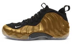 Nike Foamposite All Gold