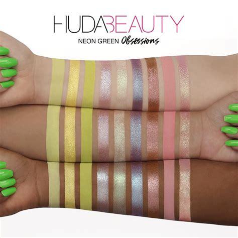 huda beauty palette occhi neon obsessions estate