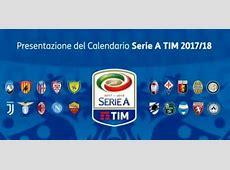 Calendario Serie A 20172018 JuveMilan alla prima?