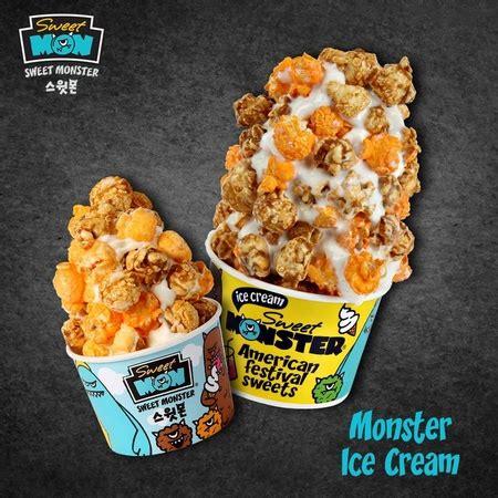 sweet monster ice cream dessert shops  singapore