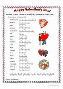 Happy Valentine's Day worksheet - Free ESL printable ...