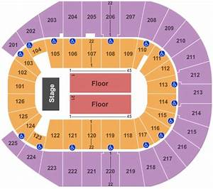 Seating Chart Bank Theater Chicago Simmons Bank Arena Tickets Seating Charts And Schedule In