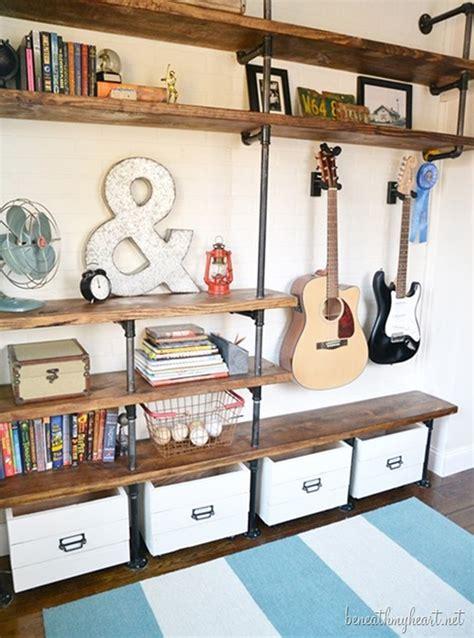 industrial shelves diy crafts handimania