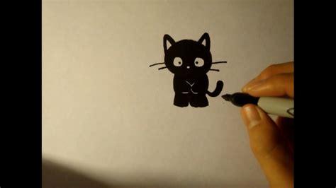 draw  cartoon baby catblack catkitten youtube
