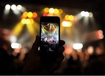 Stream Mobile Apps Concert Phones