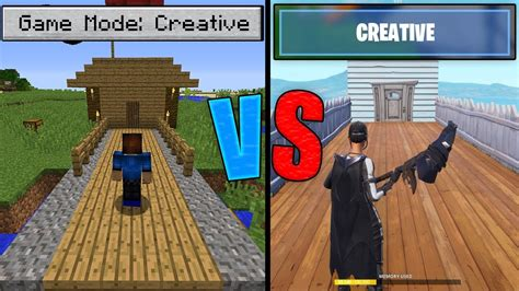 fortnite  minecraft creative mode