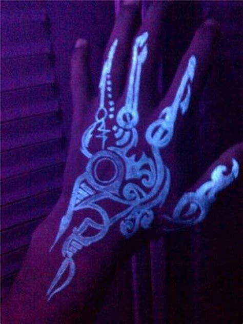 black light tattoos 98 glowing black light tattoos add intensity to your ink