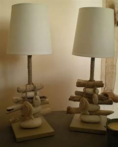Lampe Chevet Bois Flotté : lampes de chevet photo de lampes la belle au bois flotte ~ Teatrodelosmanantiales.com Idées de Décoration