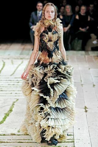alexander mcqueen  springsummer fashion collection