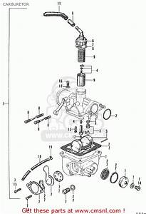 Honda Ct90 Trail K0 General Export Carburetor